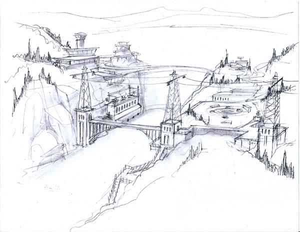 The Art Of Devin St Clair Concepts E The Bureau Maps